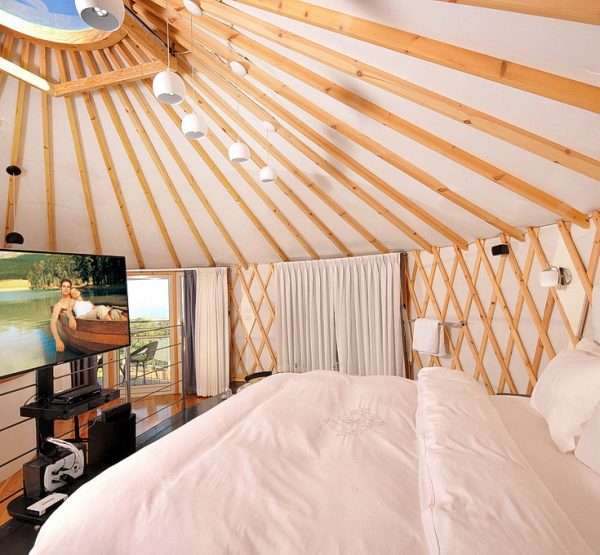 The Presidential Yurt